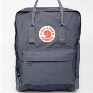 Authentic fjallraven kanken backpack, Graphite